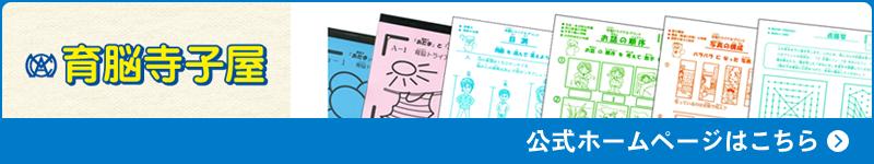 育脳寺子屋公式ホームページはこちら